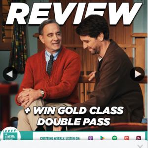 Village Cinemas – Win a Gold Class Double Pass