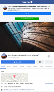 WA State Theatre Centre – Like this Post