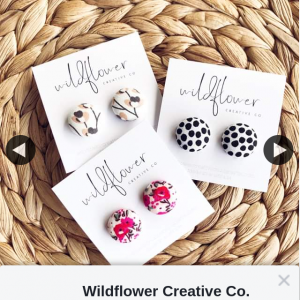 Wildflower Creative Co – Win 1/2 Pippa Earring Collections