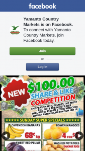 Yamanto Country Markets – Win a $100 In-Store Voucher at Yamanto Country Markets