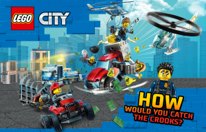 Cartoon Network – Lego City – Win a grand prize of a Lego City Police Station & a Lego City Police Helicopter Chase OR 1 of 5 runner-up prizes