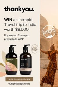 Chemist Warehouse – Win a 15-day Rajasthan Experience Intrepid Tour PLUS return flights for 2