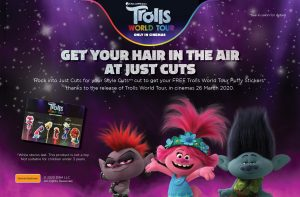 Just Cuts – Win 1 of 50 merchandise prize packs PLUS 50 family movie tickets