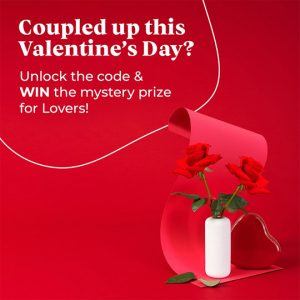 Macquarie Centre – Win the ultimate prize for Lovers this Valentine's Day