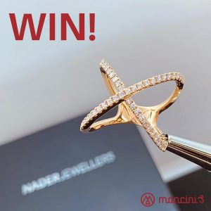 Mancini's Original Woodfired Pizza – Win an 18ct rose gold Kiss design diamond dress ring valued at $2,950