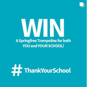 Springfree Trampoline – Win a Trampoline for you and your school
