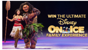 Today – Disney On Ice Family Experience – Win a trip prize package for 4 to New Zealand valued at up to AUD$25,000