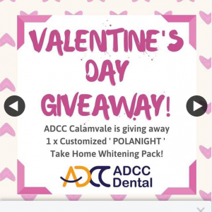 ADCC Dental Calamvale – Win a Customised Take Home Whitening Pack