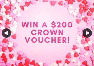 Ascent Accountants – Win a $200 Crown Perth Voucher to Treat Your Bae this V Day (prize valued at $200)