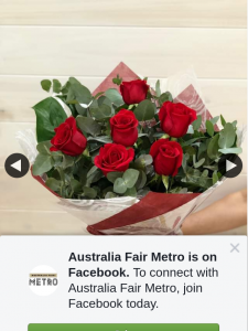Australia Fair Metro – Win this Bouquet Simply