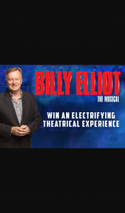 3AW – Win The Chance to Join Denis Walter at Billy Elliot The Musical