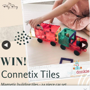 Baby Berry Collective – Win ConneTicket Tiles 24 Piece Car Set