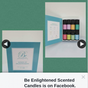 Be Enlightened Scented Candles – Win Eight Essential Oils (prize valued at $159.99)