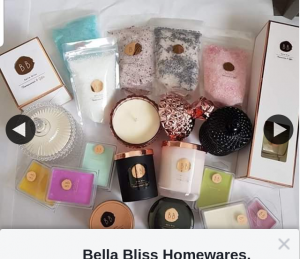 Bella Bliss $100 voucher 21st – Will Be Drawn (prize valued at $100)