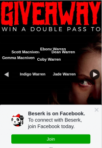 Beserk – Win an In Season Double Pass to The Invisible Man