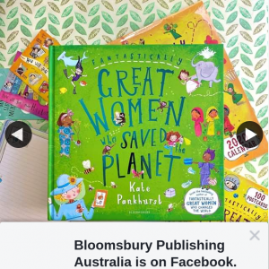 Bloomsbury Publishing – Win a Copy of Fantastically Great Women Who Saved The Planet
