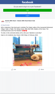 Books With Heart Book Club – Win a Valentine's Day Book Pack