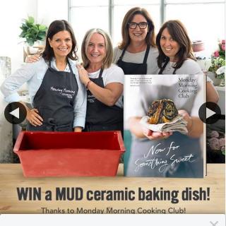 Booktopia – Win Mud Australia Ceramic Baking Dish