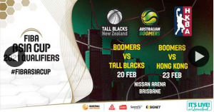 Brookside Shopping Centre – Win a Family Pass to Aussie Boomers Vs Nz Tall Blacks