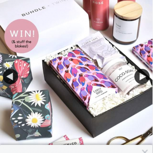 Bundle Twine – Win Valentine's Gift Box for You & a Friend  (prize valued at $150)