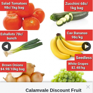 Calamvale Discount Fruit Barn – Win a $60 Fruit & Veg Voucher