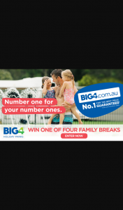 Caravanning With Kids – Win One of Four Big4 Holiday Park Adventures