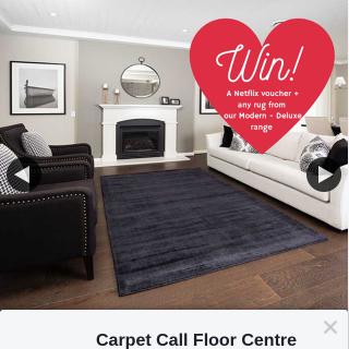 Carpet Call – Win a Netflix Voucher and a Rug