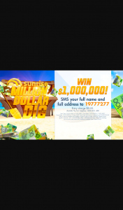 Channel 7 – Sunrise Million Dollar Dig – Win a Cash Prize on Friday 14 February 2020 on The Gold Coast (total prize value is $1,002,500)