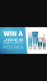 Channel 7 – Sunrise – Win a Joico Hair Care Pack (prize valued at $203)