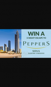Channel 7 – Sunrise – Win a Three Night Escape to The Gold Coast (prize valued at $2,868)