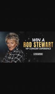 Channel 7 – Sunrise – Win Trip to Perth to See Rod Stewart Live In Concert