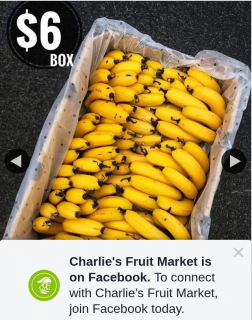 Charlie's Fruit Market Everton Park – Win a 10kg Banana Box