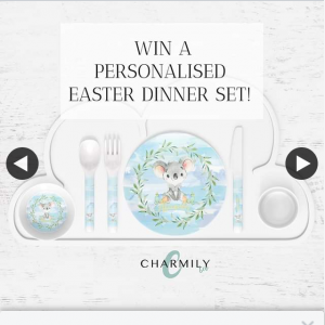Charmily & Co – & Get As Many Extra Entries (prize valued at $94.85)