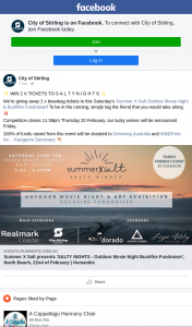 City of Stirling – Win 2 Tickets to Salty Nights Outdoor Movies Screening of Paper Planes