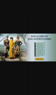 Dendy Cinemas – Win a Copy of Jane Austen's Iconic Novel