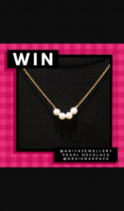 Designaspace pearl necklace – Win Winaustralia Competition Competitionaustralia