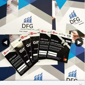 DFG Australia – Win $200 Gift Card