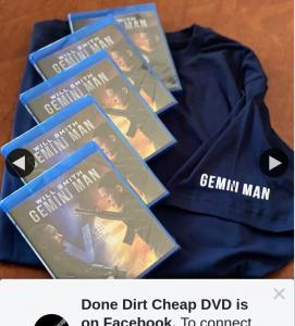 Done Dirt Cheap DVD – Win One of Five Gemini Man Packs