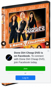 Done Dirt Cheap – Win One of Ten Copies of Charlie's Angels Two Movie Collection