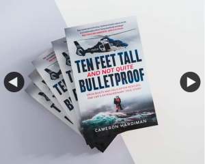 Dymocks books – Win One of Five Signed Copies of Ten Feet Tall & Not Quite Bulletproof