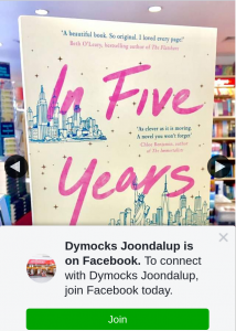 Dymocks Joondalup – Win In Five Years By Rebecca Serle Book