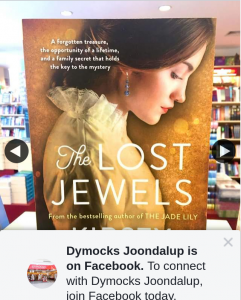 Dymocks Joondalup – Win The Lost Jewels By Kirsty Manning
