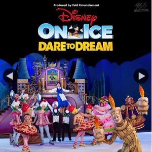 96Five – Win a Family Pass to Disney on Ice Dare to Dream