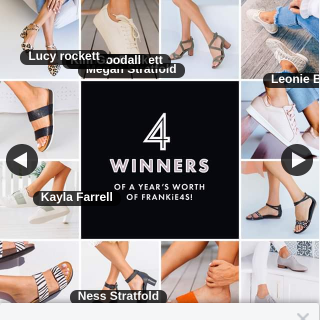 Frankie4 Footwear – Win a Shoe Lover's Dream Wardrobe