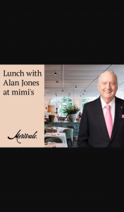 2GB – Win a Double Invitation to a Very Special Lunch at Mimi's