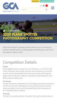 Gold Coast Airport – Win a Morning of Exclusive Airside Access to Photograph Aircraft Flying In and Out of The Airport In March 2020.
