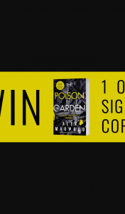 """Hachette – """"win 1 of 3 Signed Copies of Poison Garden By Alex Marwood"""" Competition (prize valued at $29.99)"""