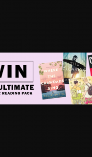 Hachette – Win The Ultimate Summer Reading Pack