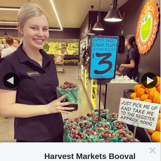 Harvest Markets Booval – Win a $50 Fruit & Veg Voucher // Bonus Entry If You Comment a ❤️ on this Post