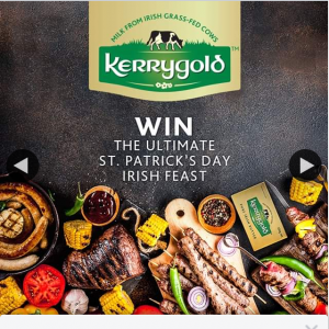 Kerrygold Australia – Win The Ultimate St Patrick's Day Feast